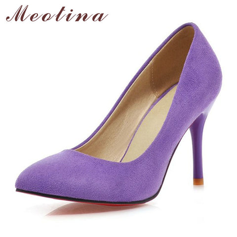 Meotina Women High Heel Pumps