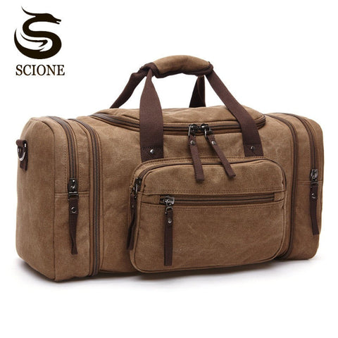 Large Capacity Men Hand Luggage Travel Bag