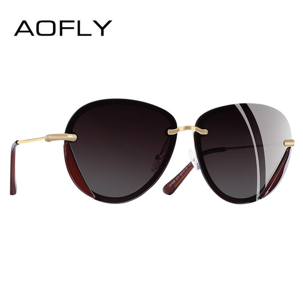 Women Retro Vintage Polarized Sunglasses Glasses