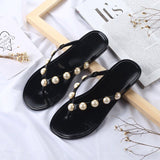 Summer Pearl Fashion Slippers for Ladies