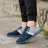 Summer Breathable Air Mesh Casual Shoes For Men