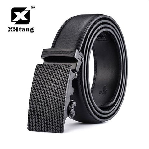 Genuine Leather Ratchet Belt for Men