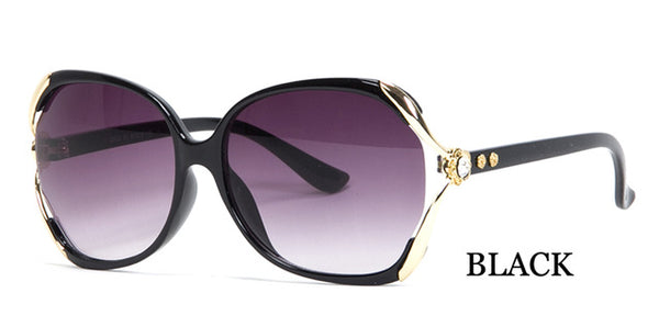 High Quality Crystal Ornament Vintage Sunglasses
