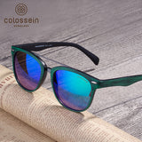COLOSSEIN Sunglasses New Fashion Sunglasses Women Round Glasses Brand Designer Retro Sunglass Men Outdoor gafas