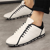 Male Black Driving Casual Shoes