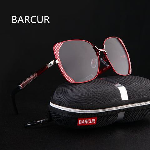 Designer Polarized Sunglasses With Original Case