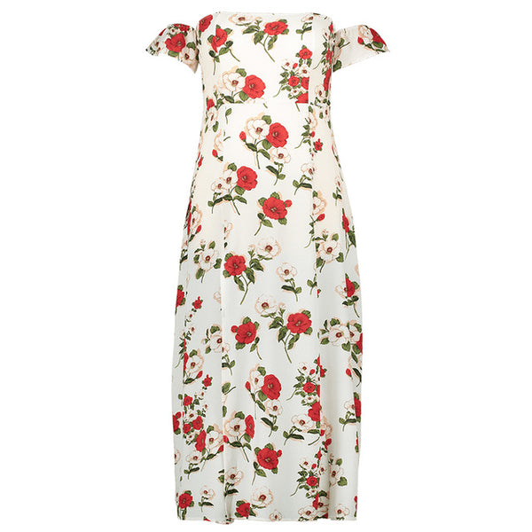 Floral Ankle Length Dress