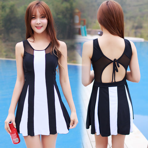 Rhyme Lady  swimsuit dress