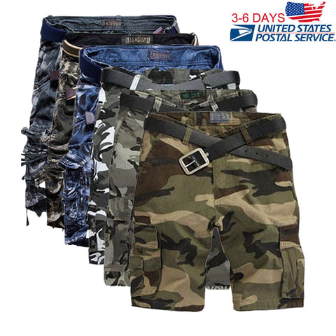 Summer Military Army Fatigue Baggy Short for men