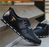 Men Summer Soft Driving Shoes