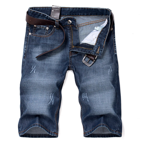 stylish men summer cotton denim shorts