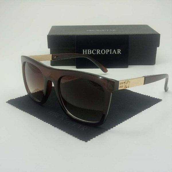 Luxury Oversized Rectangle Sunglasses