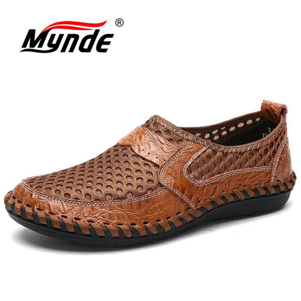 Handmade Breathable Mesh Men Casual Shoes For Men