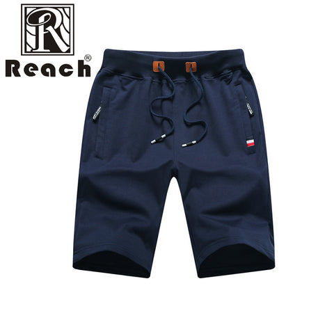Casual Summer Men Zipper  Shorts