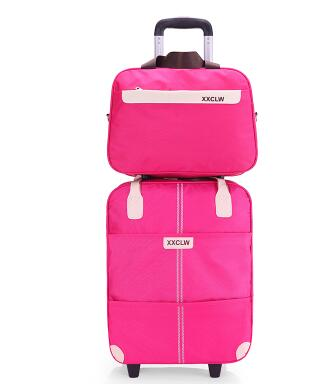 Women wheels travel Trolley Bag Suitcase