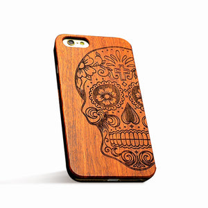 Retro Nature Wood Case For iPhones