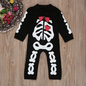Baby Skeleton  Outfits Infant