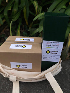 lemon honey boxes
