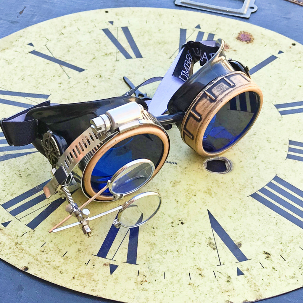 #1 Selling Steampunk Goggles,Handcrafted in the USA