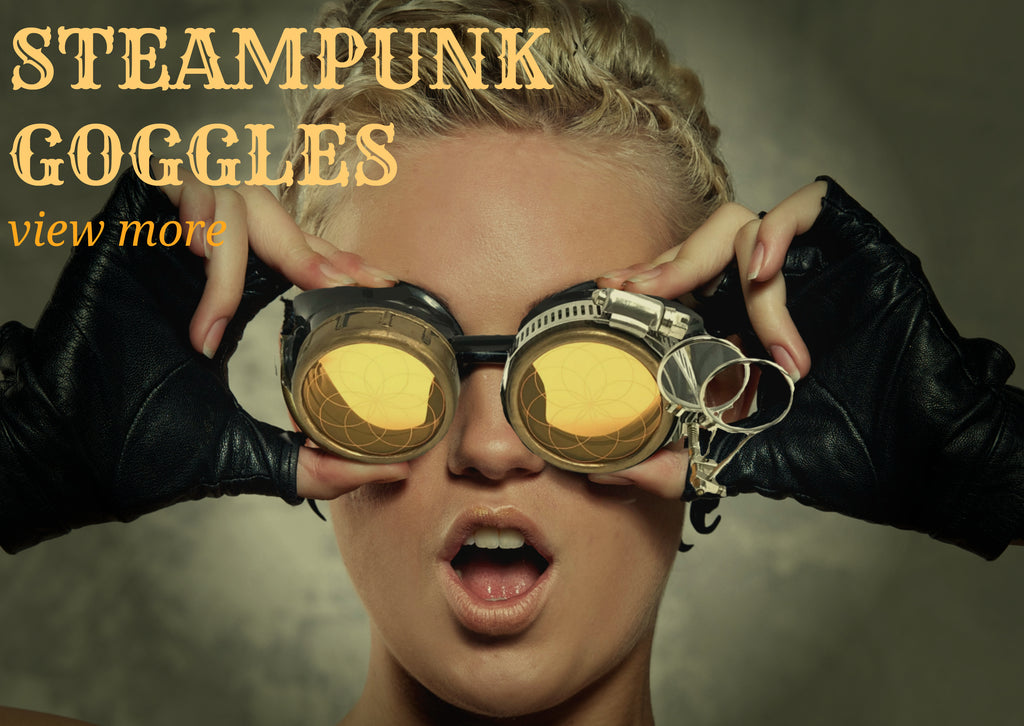 steampunk goggles costume accessories