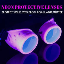 Load image into Gallery viewer, Diffraction Goggles Rave Wear Glasses UV Glow in the dark