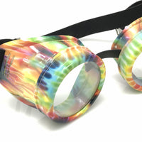 UV Glow in The Dark Steampunk Rave Goggles Glasses umbrellalaboratory