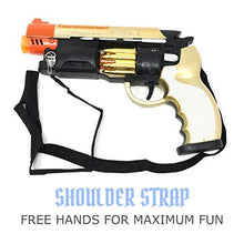 Load image into Gallery viewer, Steampunk Blade Runner Toy Gun Revolver Pistol with Lights Sounds