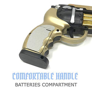 Steampunk Blade Runner Toy Gun Revolver Pistol with Lights Sounds