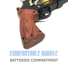 Load image into Gallery viewer, Steampunk Cool Kids Toys Guns for Boys,Girls Revolver Pistol with Lights Sounds