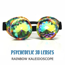 Load image into Gallery viewer, Kaleidoscope goggles diffraction glasses