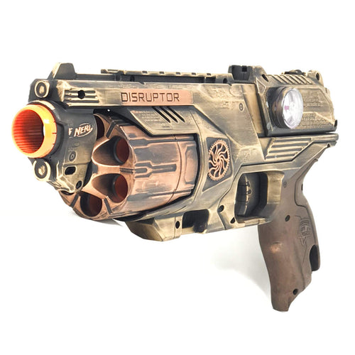 Steampunk Toy Gun Nerf Disruptor Theater Prop Cosplay Costume Accessory