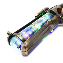 Load image into Gallery viewer, Steampunk Toy Gun Spinning Galaxy Lights Cosplay Costume Space Cowboy