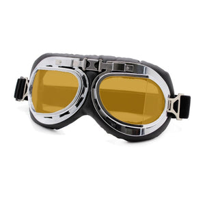 Retro Motorcycle Goggles Glasses Vintage Moto Classic biker Goggles for Harley Pilot Steampunk