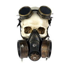 Load image into Gallery viewer, Steampunk Glasses Gas Masks Goggles Cosplay Props Gothic Anti-Fog Haze Men and Women Mask