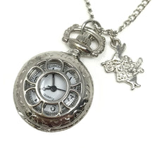 Load image into Gallery viewer, Alice in Wonderland costume accessories necklace pocket watch