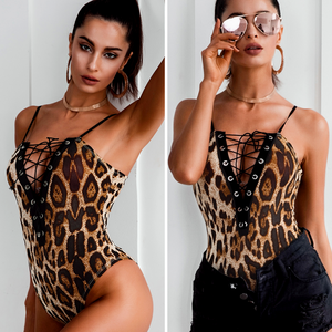 Leopard Push Up One Piece