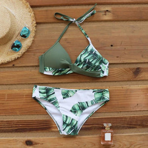 Emily's Push Up Leaf Bikini