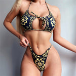 Thelma's Hollow Out Bikini