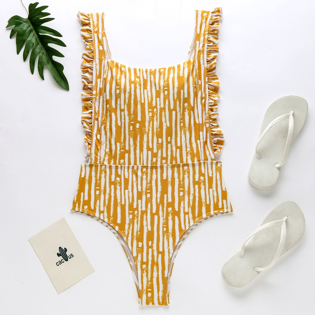 Karen's Ruffles One Piece