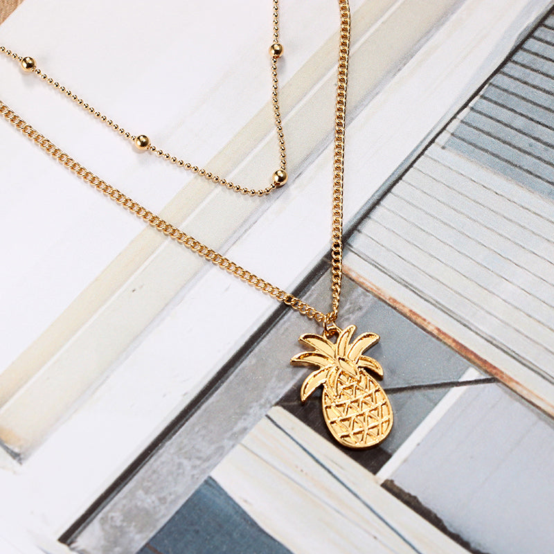 Bohemian Pineapple Necklace