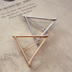 Triangular Hair Pin