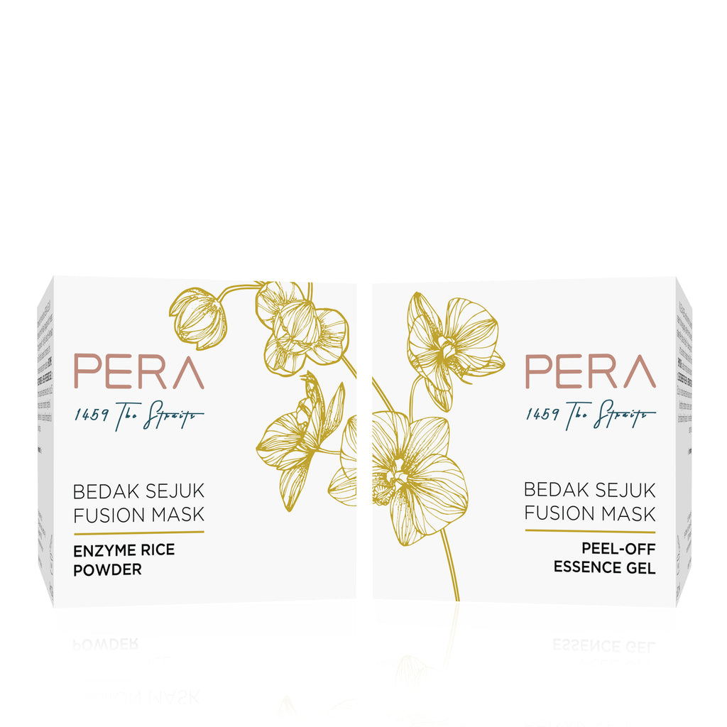 Best face mask - Peranakan natural skin care PERA Bedak Sejuk