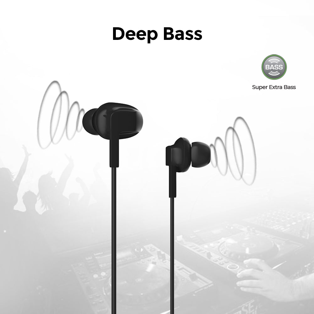 UltraProlink MoBass UM1042 Noise Isolation Hands free earphone with mic