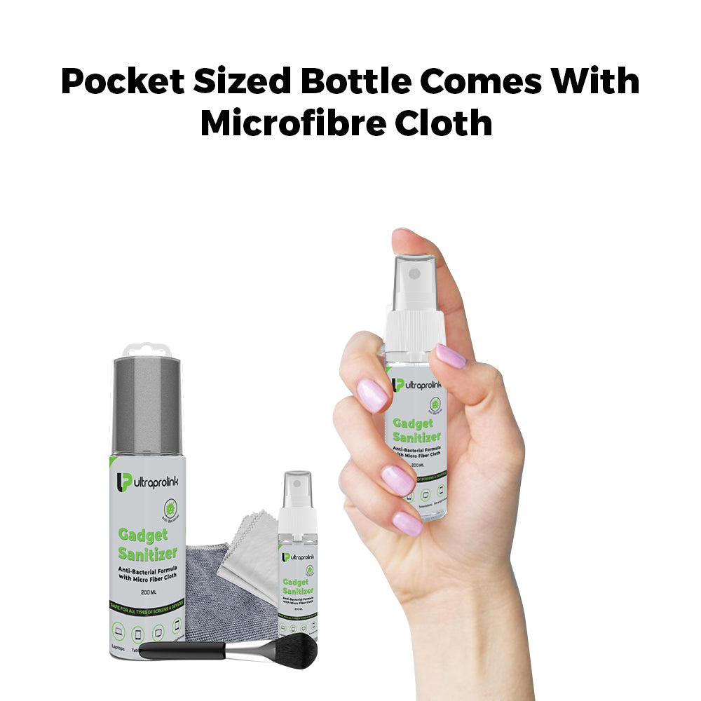 Anti-Bacterial Gadget Sanitizer Family Pack