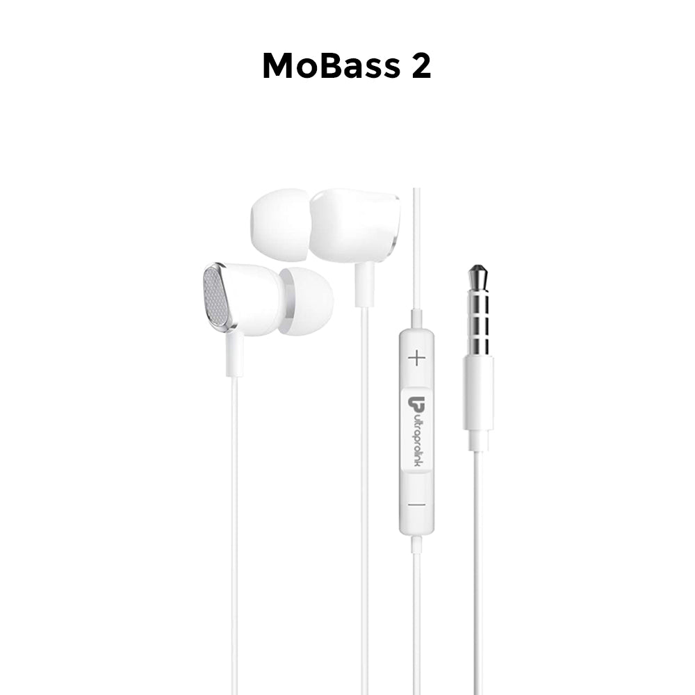 UltraProlink MoBass UM1038 Noise Isolation Hands free earphone with mic