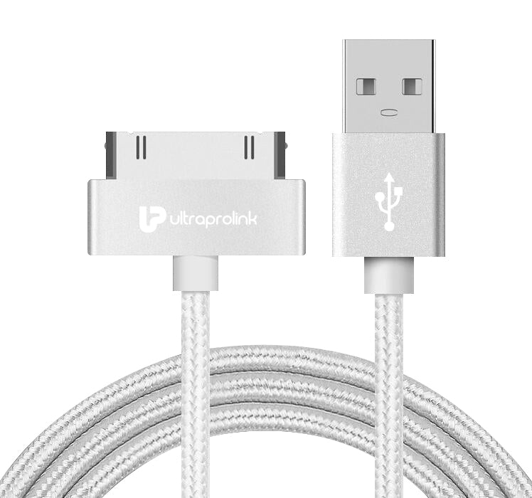 UltraProlink UL0042 iDock USB Data & Charging Cable for iPhone 4/4s 1.5m (White)