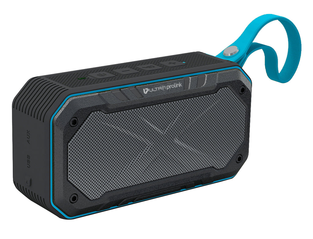 UltraProlink UM0070 Bravo IPX7 Bluetooth Speaker 8W (Blue)