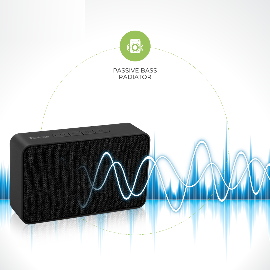 UltraProlink UM0080 Brick Bluetooth Speaker 5W (Black)