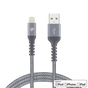 NYLOKEV+ LIGHTNING Cable 1.5m UL1008SLV-0150 (Silver)