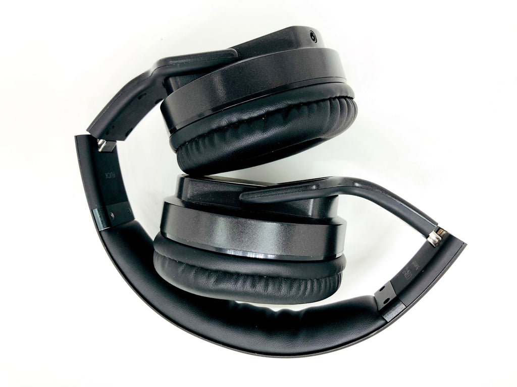 UM0075 Flick Wireless Headphone cum Speaker 6W (Black)